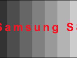 Galaxy S8 scala di grigi