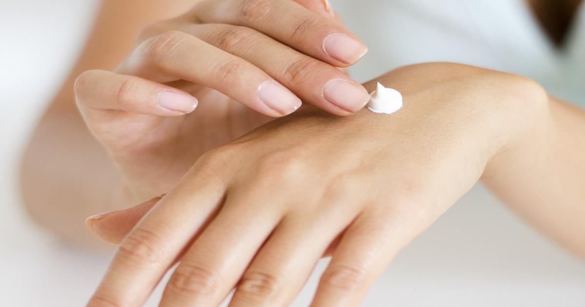 crema biologica per le mani