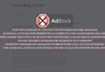 Come disattivare Adblock