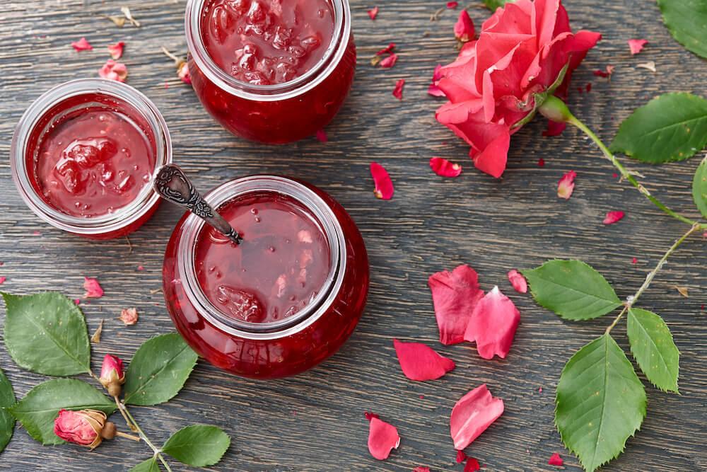 Come fare la confettura di rose