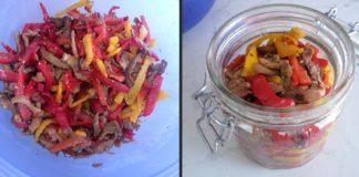 Come fare le melanzane e i peperoni sott'olio