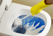 Come sbiancare la tazza del WC