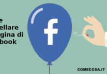 Come cancellare la pagina di Facebook
