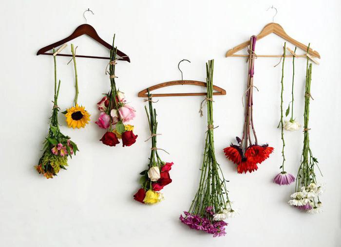 Essiccare i fiori