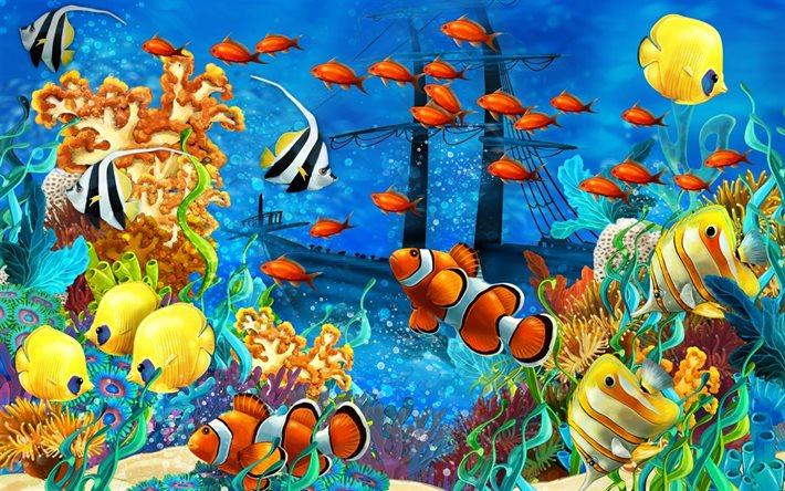 riconoscere le malattie dei pesci marini