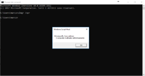 Come verificare se hai Windows originale - CMD