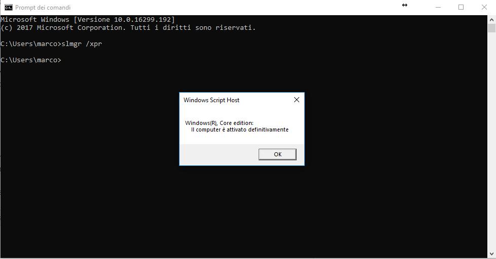 Come verificare se hai Windows originale - attivazione di windows