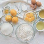 Chiffon Cake al Limone - ingredienti
