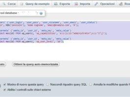 Come Aggiungere un user dal database su Wordpress