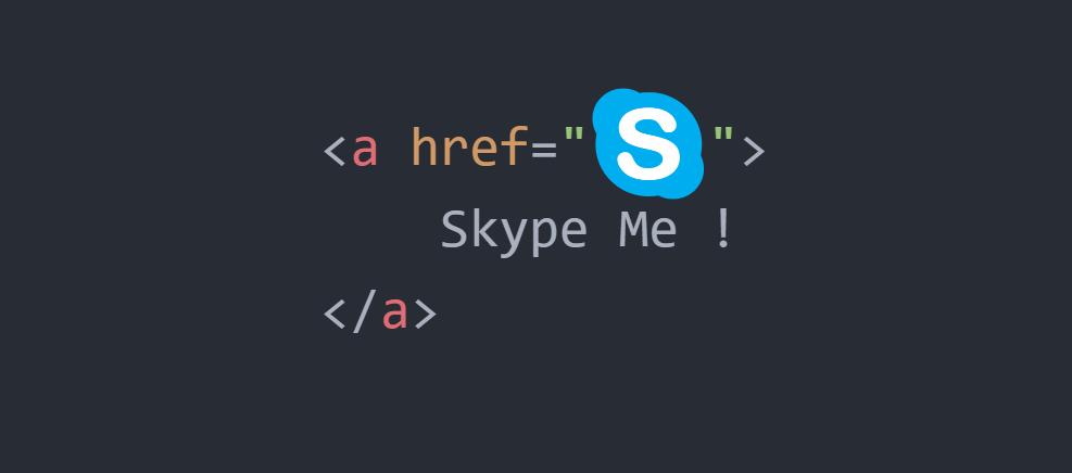 Come Crea il collegamento al profilo Skype