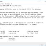 Come Modificare il file Hosts – Windows