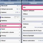 Come controllo codice IMEI Iphone 1