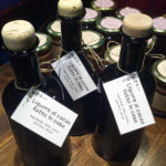 liquore barattoli ed etichette
