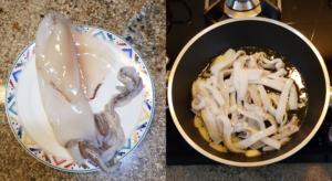 Come preparare gli scialatielli allo scoglio calamari