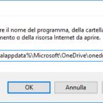 OneDrive attivare programma