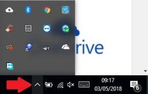 OneDrive Icona Nascosta
