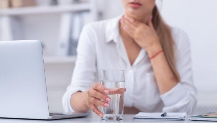 Placche in gola: cosa fare?
